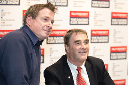 Nigel Mansell met een fan