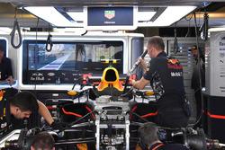 Detalle de la parte delantera del RB13 de Red Bull Racing