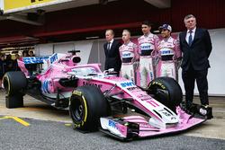Andrew Green, Sahara Force India F1 Technical Director, Nikita Mazepin, Sahara Force India F1, Esteb