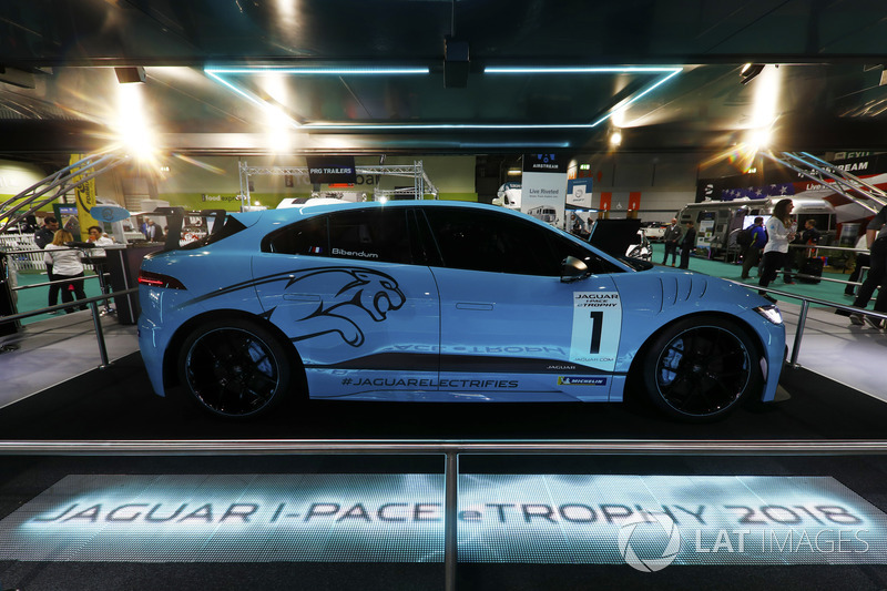 The Jaguar I-Pace eTrophy is launched