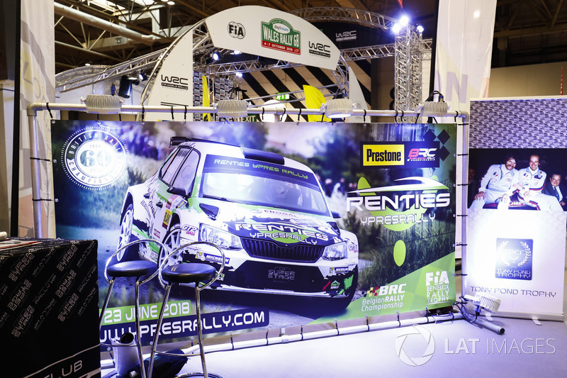 The Wales Rally GB stand