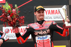 Podium : le troisième, Chaz Davies, Aruba.it Racing-Ducati SBK Team