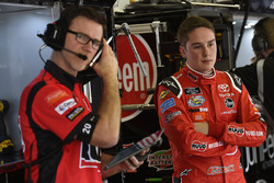 Christopher Bell, Joe Gibbs Racing, Ruud Toyota Camry and Jason Ratcliff