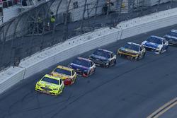 Ryan Blaney, Team Penske Ford Fusion en Joey Logano, Team Penske Ford Fusion