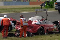 Crash of René Rast, Audi Sport Team Rosberg, Audi RS 5 DTM