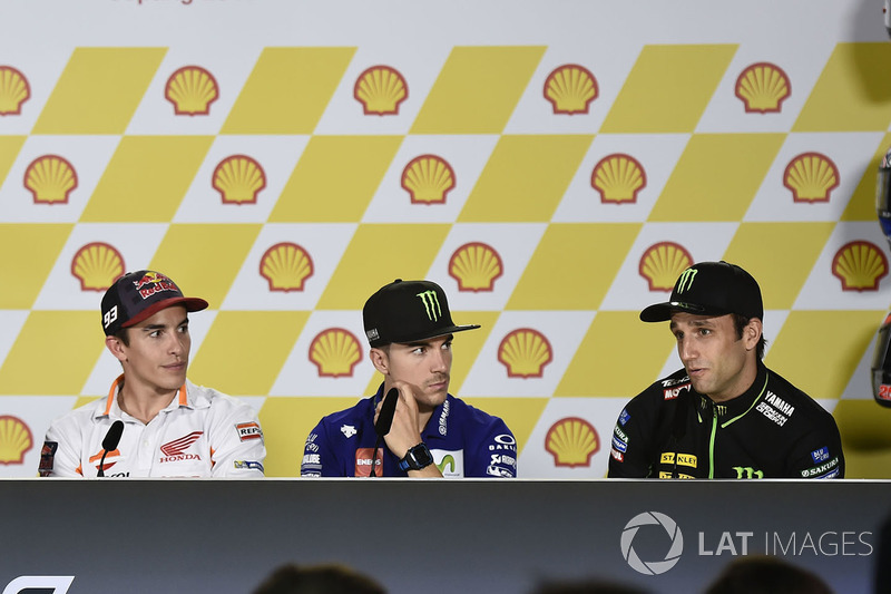 Johann Zarco, Monster Yamaha Tech 3, Marc Marquez, Repsol Honda Team, Maverick Viñales, Yamaha Factory Racing