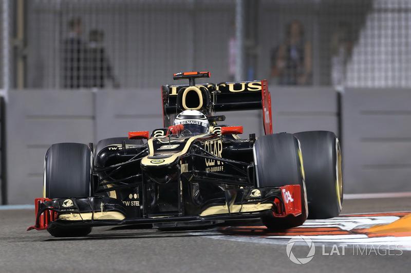 2012: Kimi Raikkonen, Lotus F1 Team E20