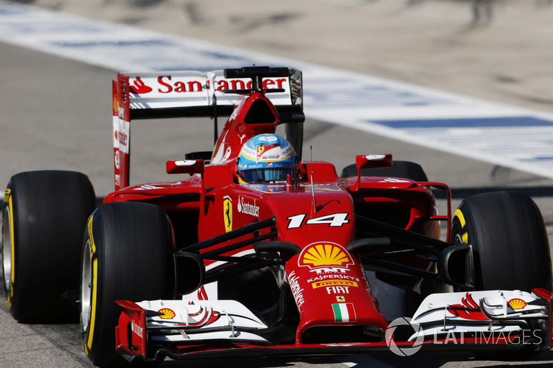 Фернандо Алонсо, Ferrari F14T
