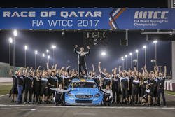 Чемпион мира Тед Бьорк, Polestar Cyan Racing, Volvo S60 Polestar TC1