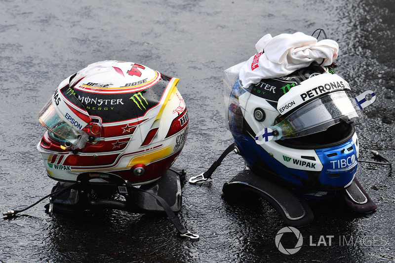 Шоломи Валттері Боттаса, Льюіса Хемілтона, Mercedes-AMG F1