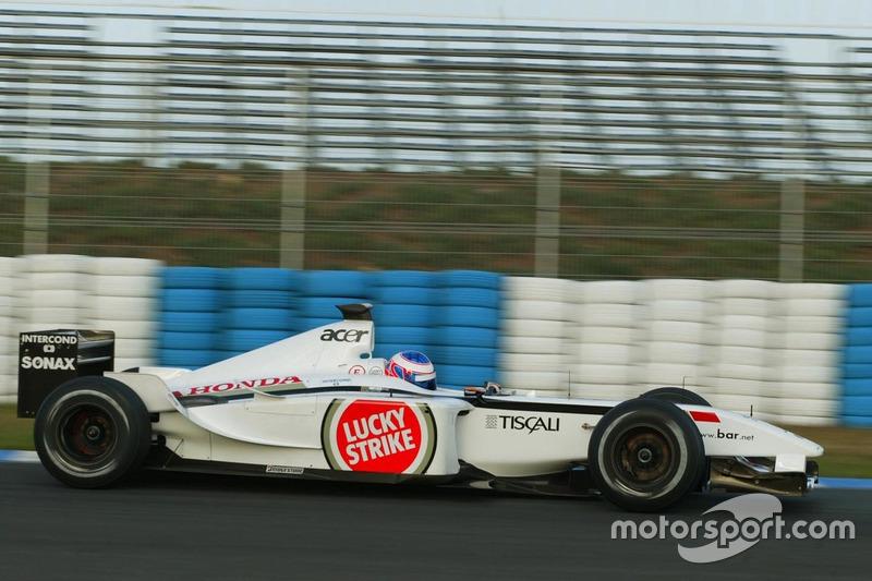 Jenson Button, BAR Honda 004
