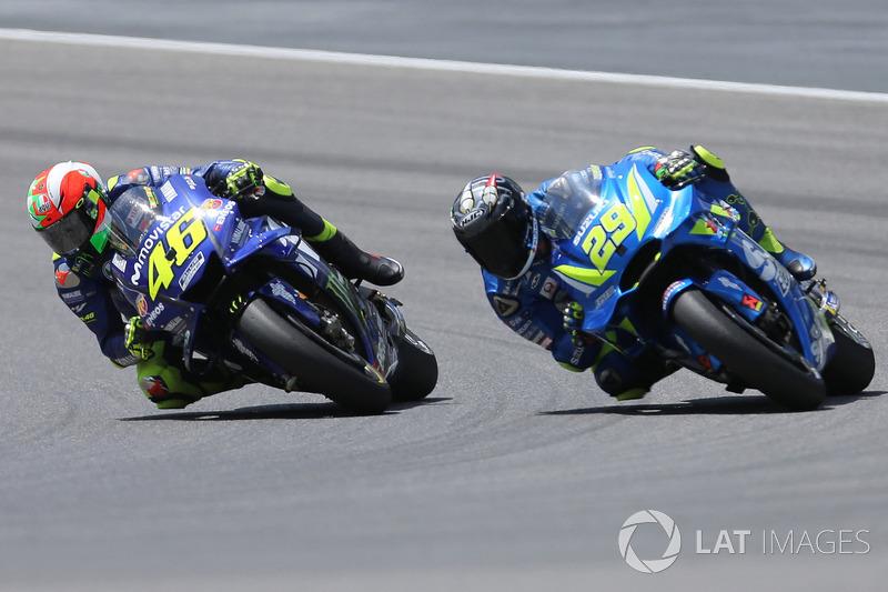 GP de Italia - Valentino Rossi y Andrea Iannone