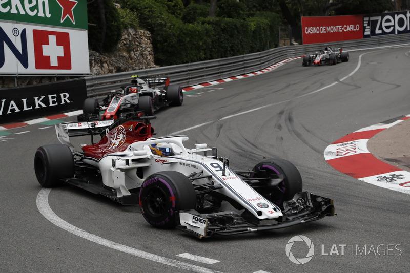 11. Marcus Ericsson, Sauber C37