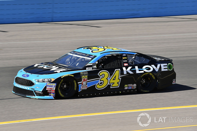 31. Michael McDowell, No. 34 Front Row Motorsports Ford Fusion