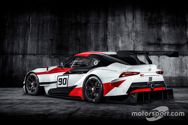 Toyota GR Supra Racing Concept onthulling