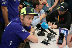 Valentino Rossi, Yamaha Factory Racing, press conference