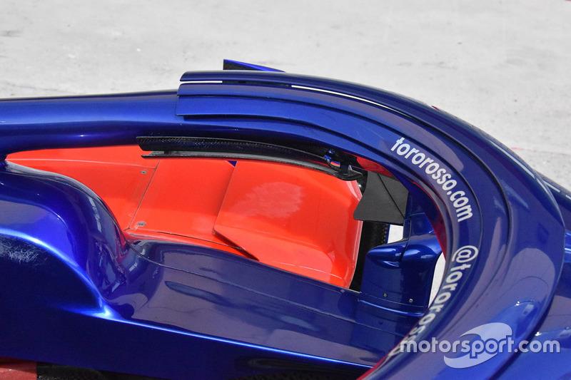 Le Halo de la Toro Rosso STR13