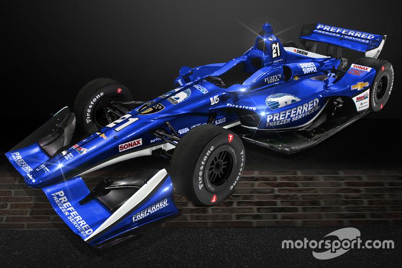 Anuncio Ed Carpenter Racing