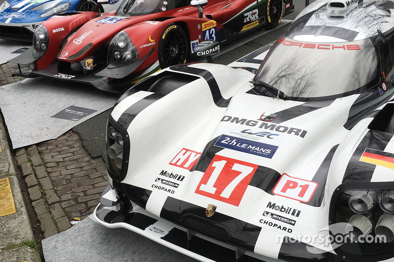 Porsche  Hybrid Rgr Sport By Morand Ligier Js P Ford Gt On Display