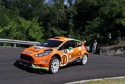 Simone Campedelli, Danilo Fappani, Ford Fiesta GPL R5, Orange1 Racing
