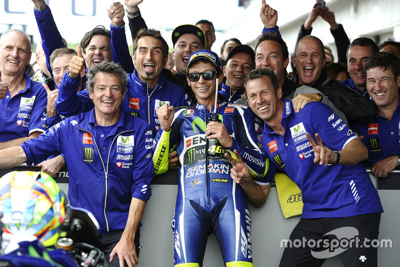 Platz 3: Valentino Rossi, Yamaha Factory Racing