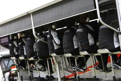 Pórtico de Sahara Force India F1 Team pit