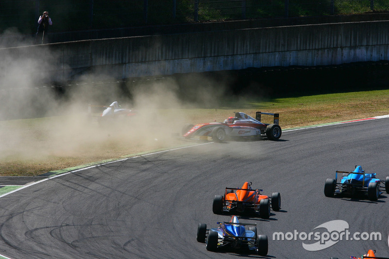 L'incidente di Mick Schumacher, Prema Powerteam e Juan Manuel Correa, Prema Powerteam