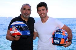Norman Nato, Racing Engineering, mit neuem Helmdesign in Anlehnung an Olivier Panis und Jules Bianch