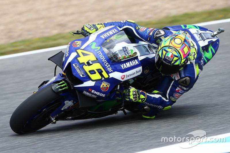 Yamaha Factory Racing, Yamaha YZR-M1: Valentino Rossi