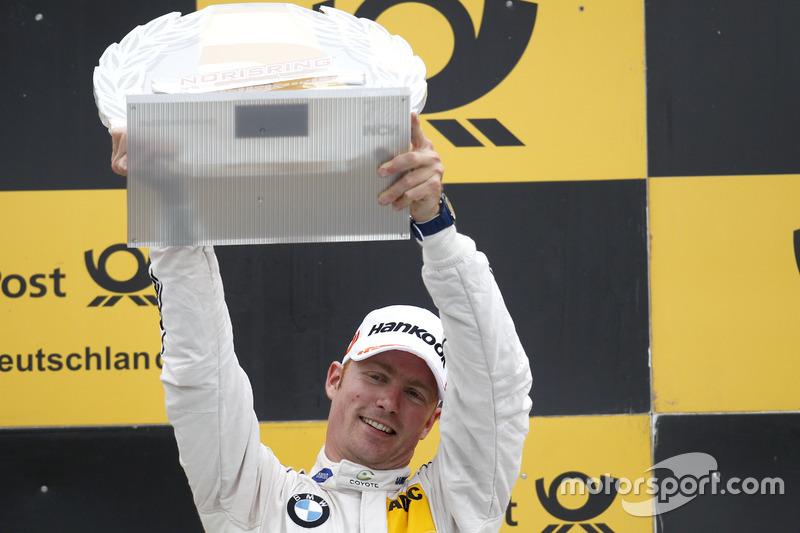 Podyum: 3. Maxime Martin, BMW Team RBM, BMW M4 DTM