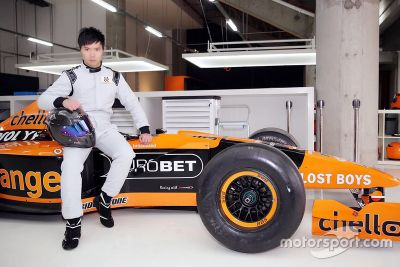 Ma Qing Hua teste une Arrows F1