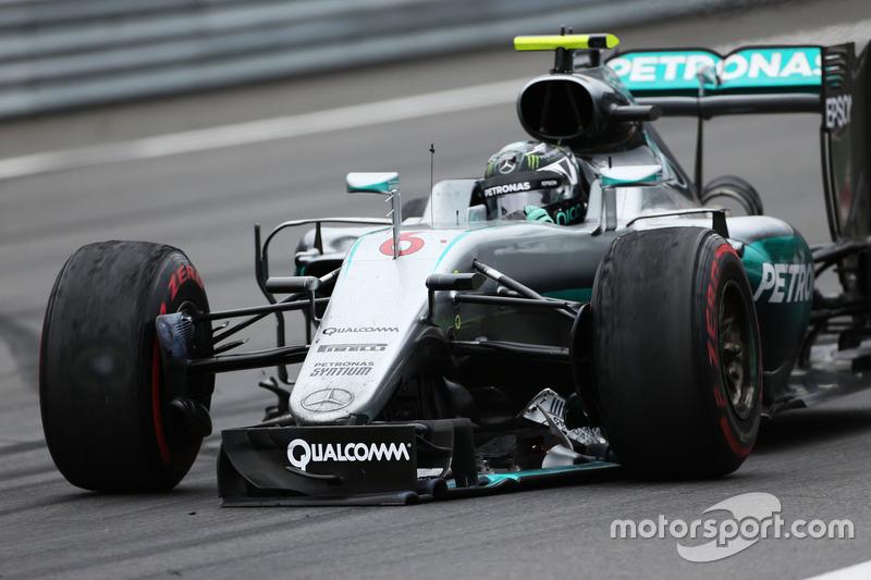 Nico Rosberg, Mercedes AMG F1 arranca in pista