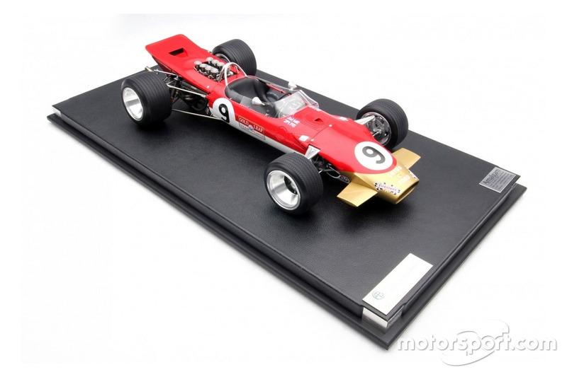 Miniature Amalgam 1:8 - Lotus 49B de Graham Hill, GP de Monaco 1968