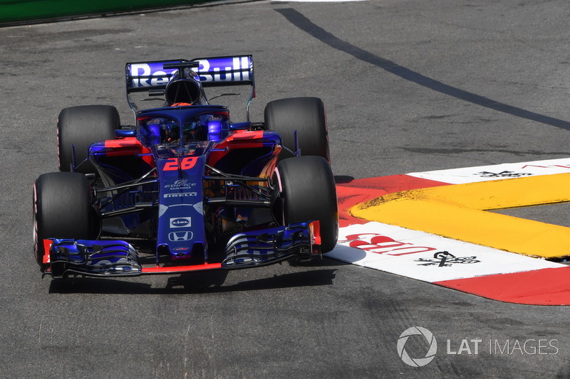 Ausfall: Brendon Hartley, Scuderia Toro Rosso STR13