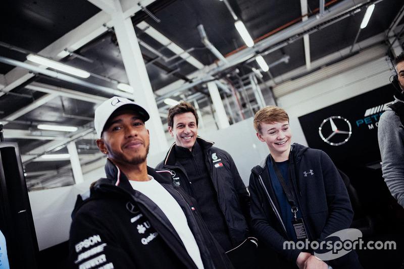 Льюіс Хемілтон, Mercedes AMG F1, Тото Вольфф, виконавчий директор Mercedes AMG F1, Біллі Монгер