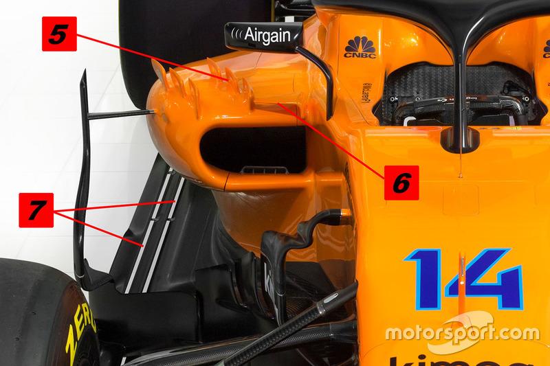 McLaren MCL33, боковий понтон