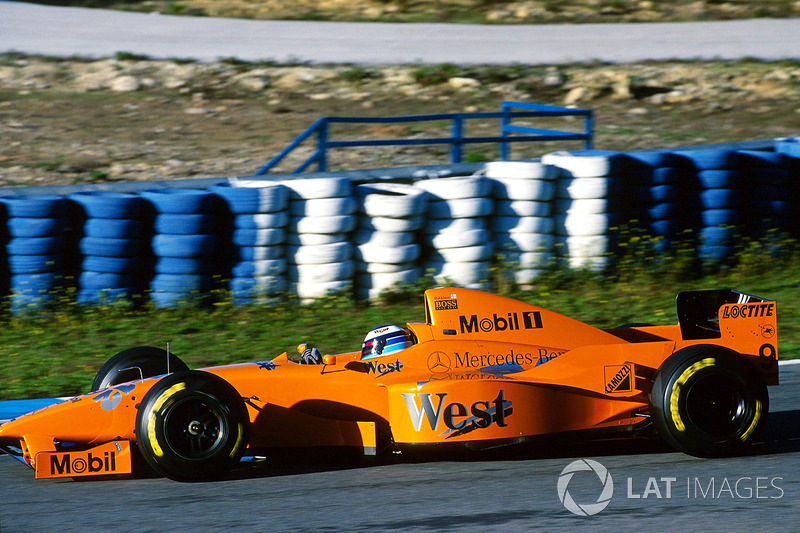 McLaren MP4/12 (Wintertests 1997)