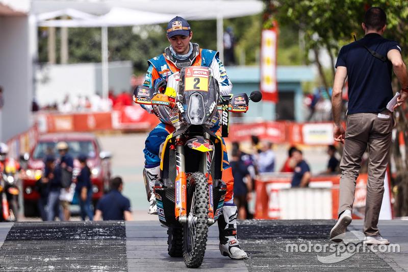 #2 Red Bull KTM Factory Team: Matthias Walkner