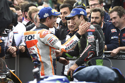 1. Marc Marquez, Repsol Honda Team, 4. Johann Zarco, Monster Yamaha Tech 3