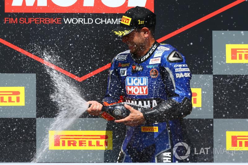 Podium : Sandro Cortese, Kallio Racing