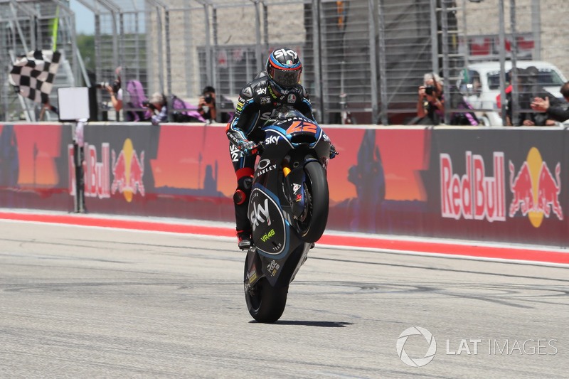 Race winner Francesco Bagnaia, Sky Racing Team VR46