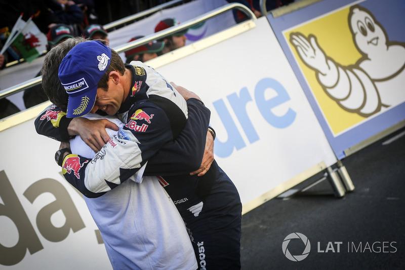 Malcolm Wilson, Team principal M-Sport con Sébastien Ogier, M-Sport