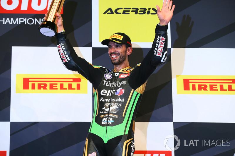 Podyum: 3. Kenan Sofuoglu, Kawasaki Puccetti Racing