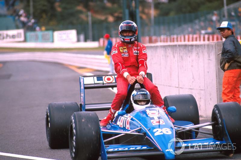 1988 Japonya: Stefan Johansson, Gerhard Berger