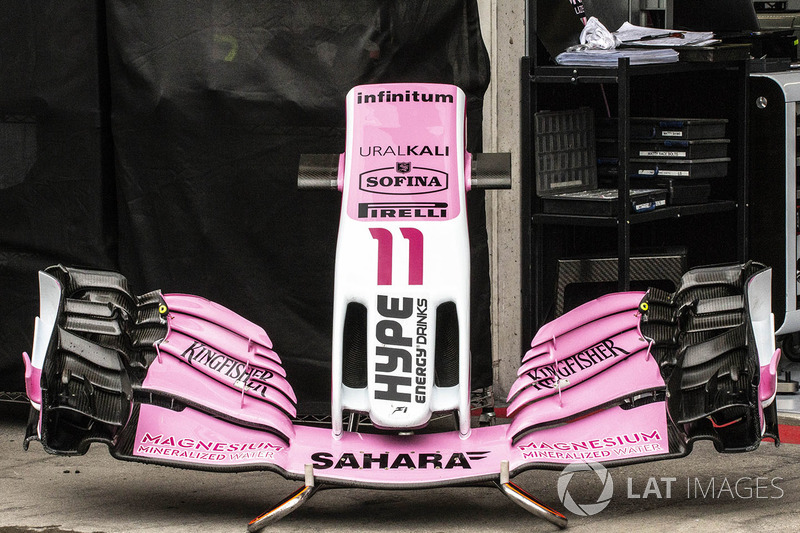 Force India VJM11 burun ve ön kanat