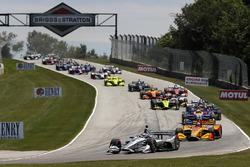 Start: Josef Newgarden, Team Penske Chevrolet, führt
