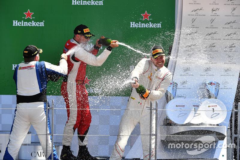 Mark Fuller, Scuderia Corsa - Ferrari Westlake, Michael Fassbender, Ferrari North America