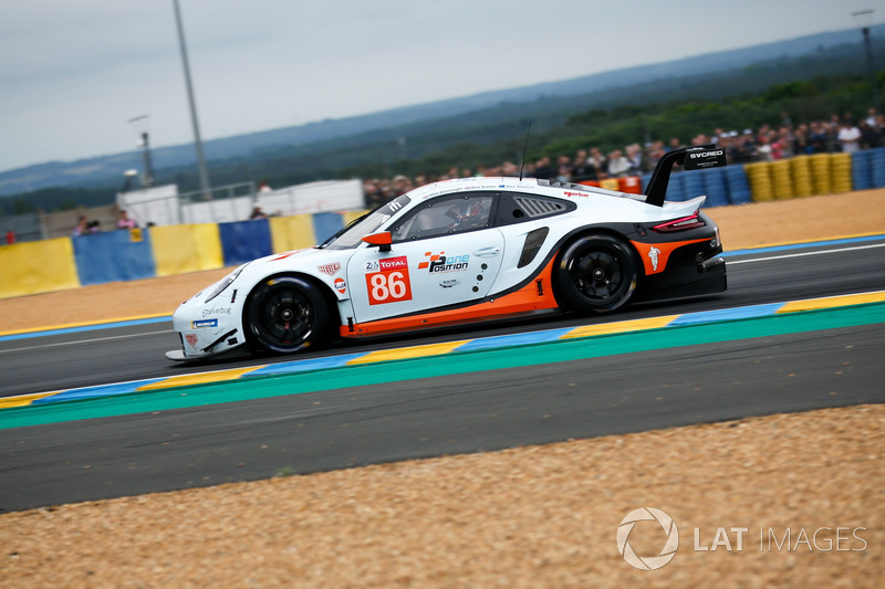 2. LMGTE-Am: #86 Gulf Racing, Porsche 911 RSR