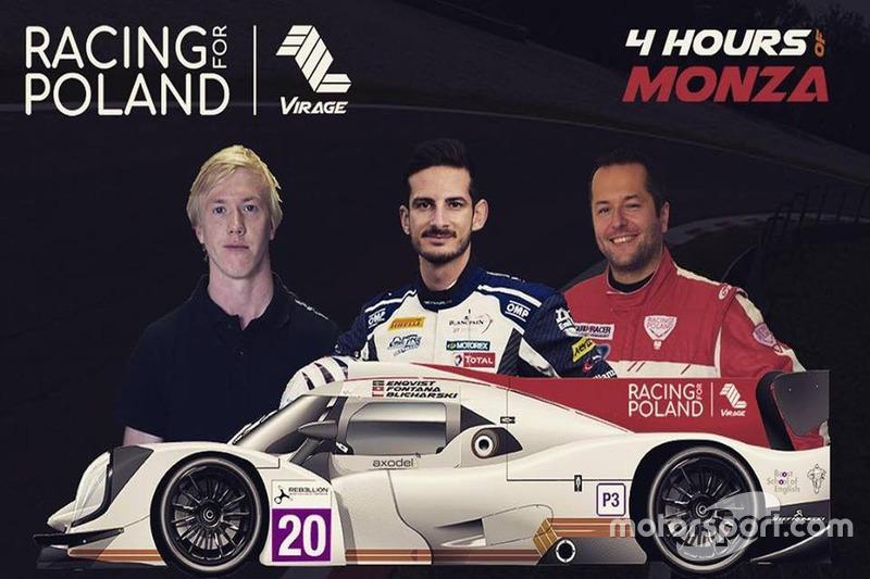 Racing for Poland, locandina