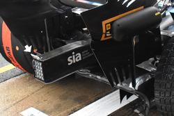 Williams FW41 rear flap detail